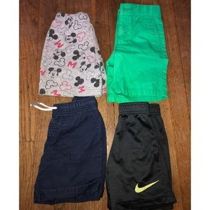 4 shorts size 4t